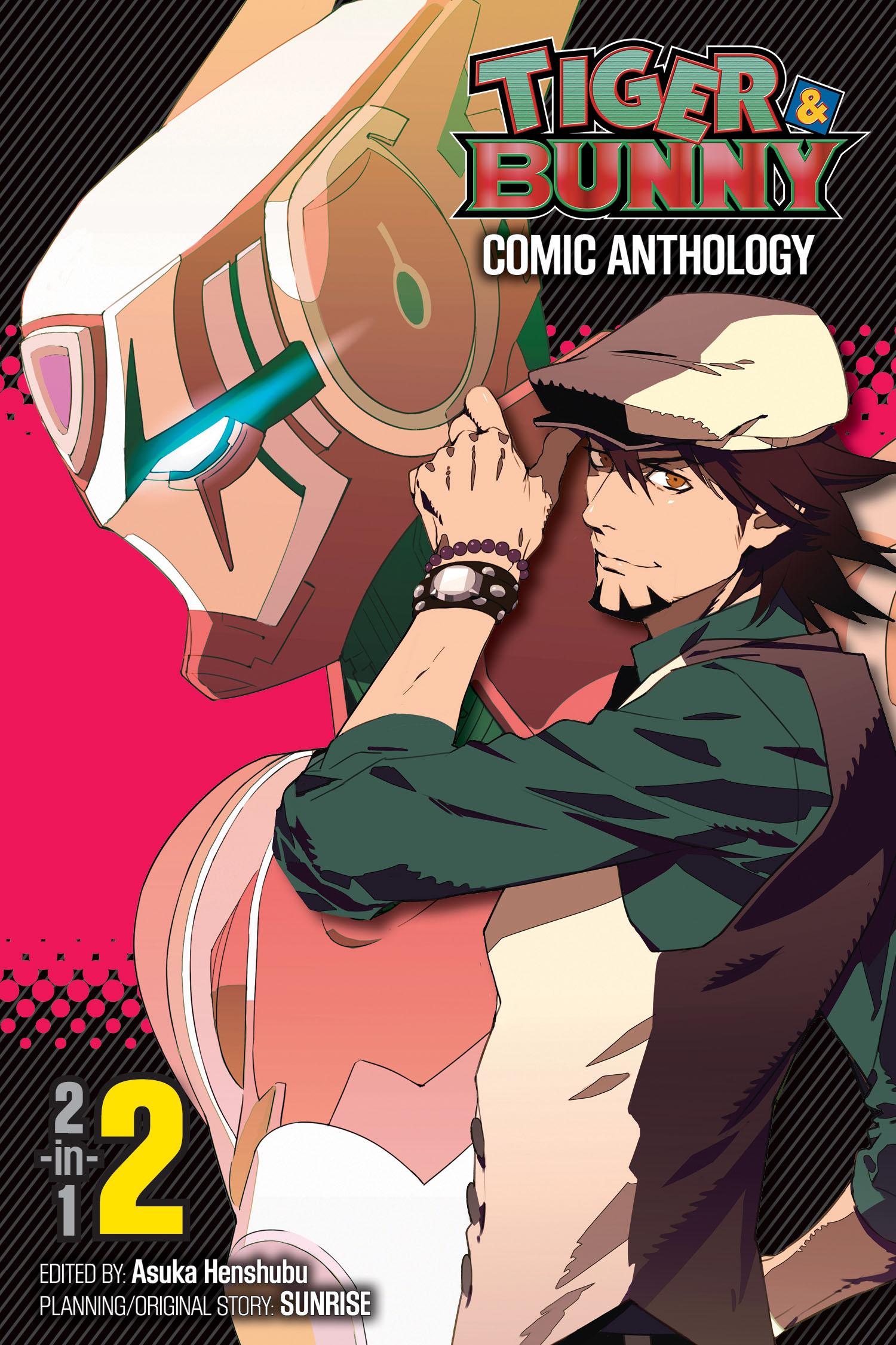 Tiger bunny comic anthology vol 2 9781421555607 hr