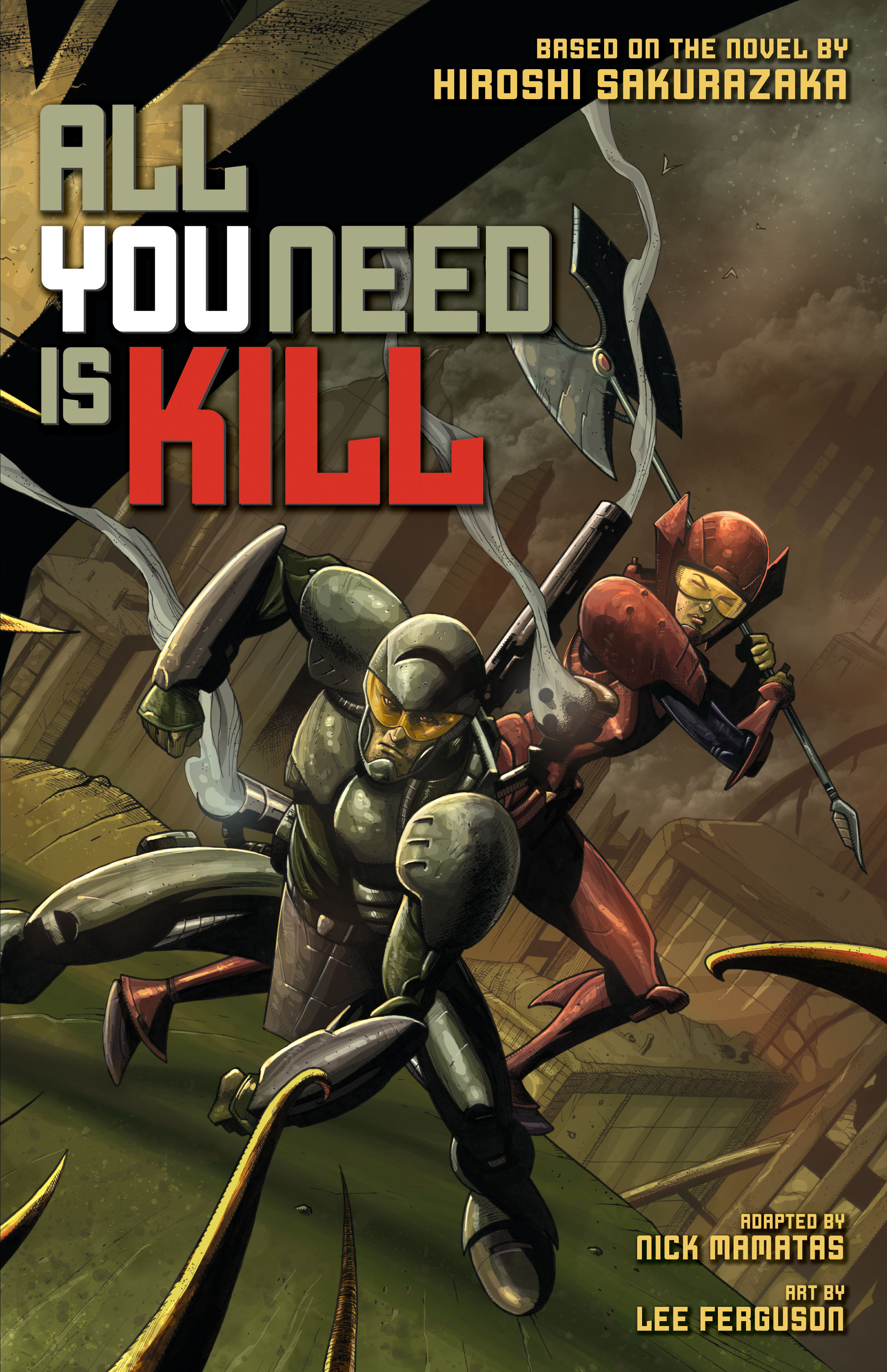 All you need is kill (graphic novel) 9781421560816 hr