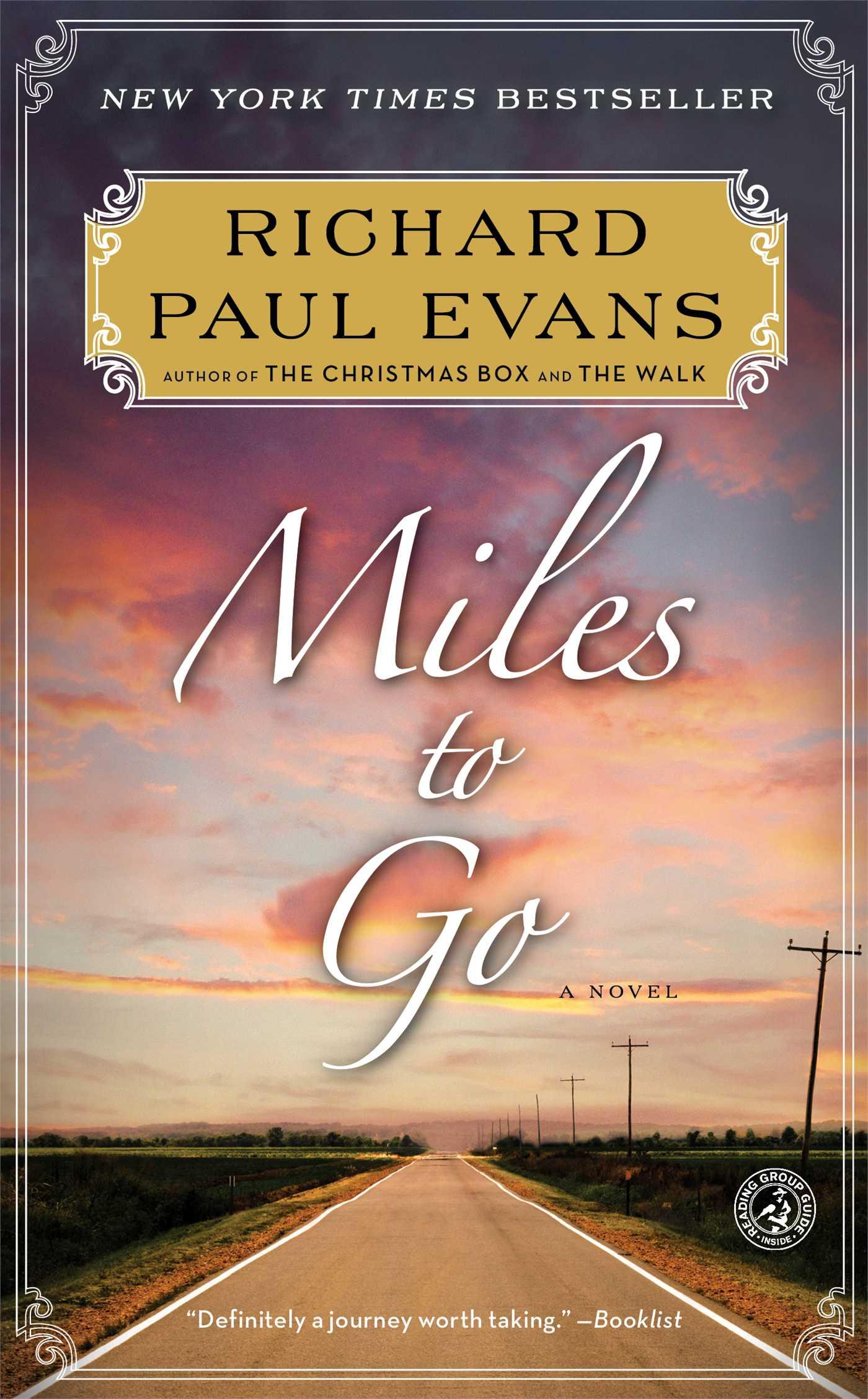 Miles to go 9781439191477 hr