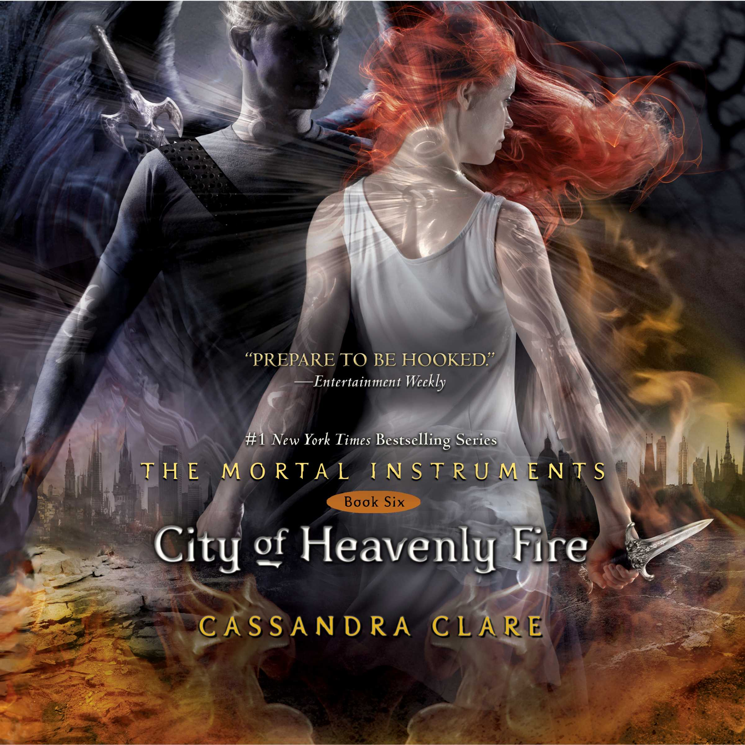 City of heavenly fire 9781442349780 hr