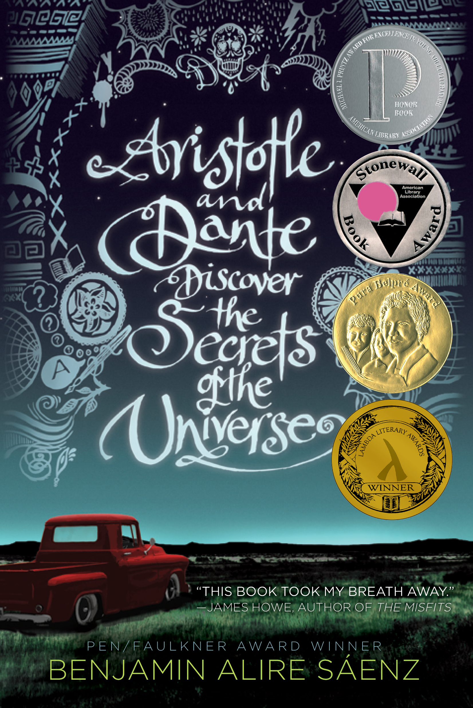 Book Cover Image (jpg): Aristotle and Dante Discover the Secrets of the  Universe