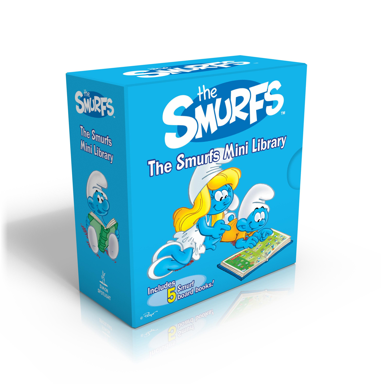 Smurfs mini library 9781442495432 hr