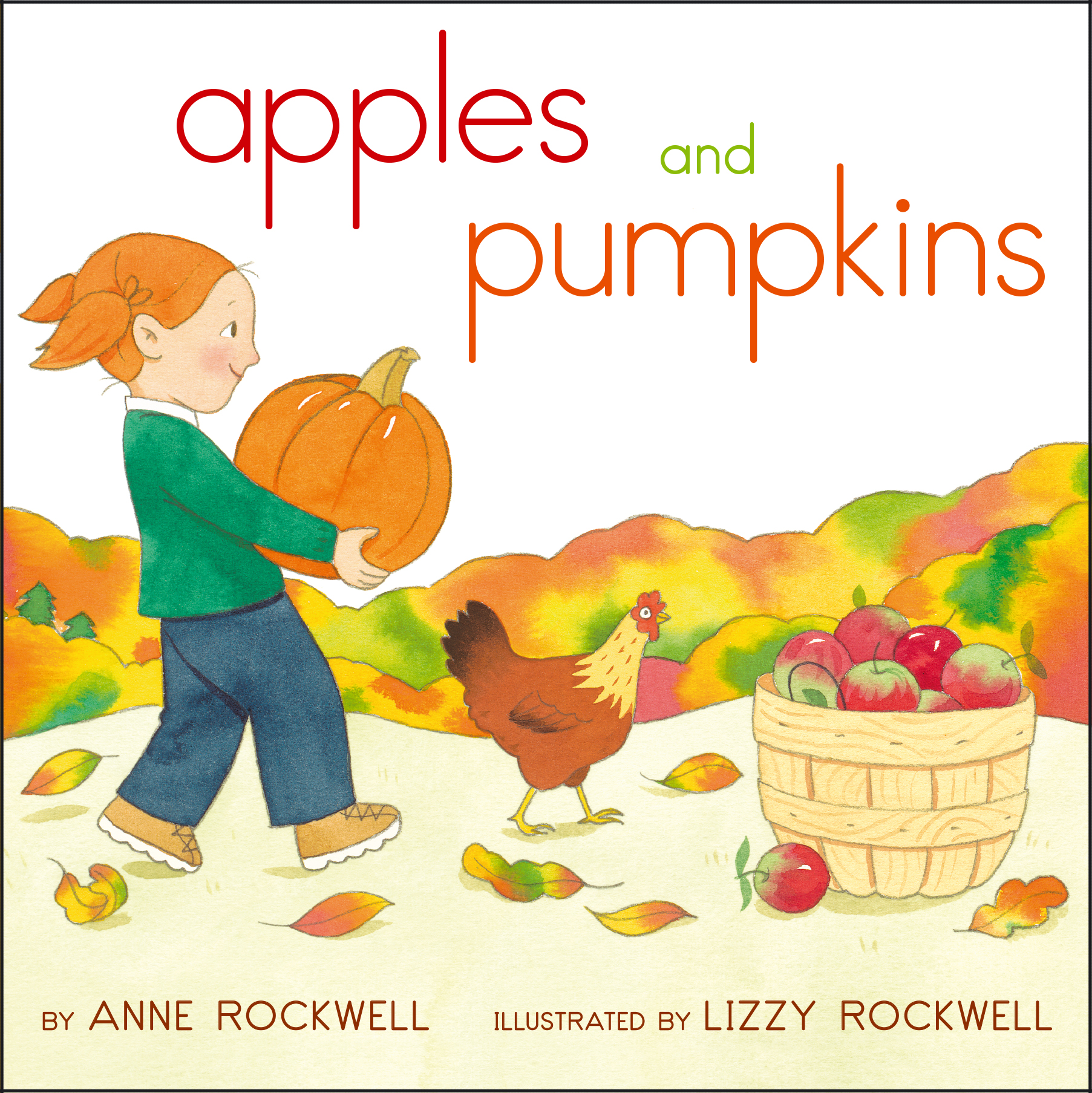 Apples and pumpkins book by anne rockwell lizzy rockwell apples and pumpkins 9781442499775 hr fandeluxe
