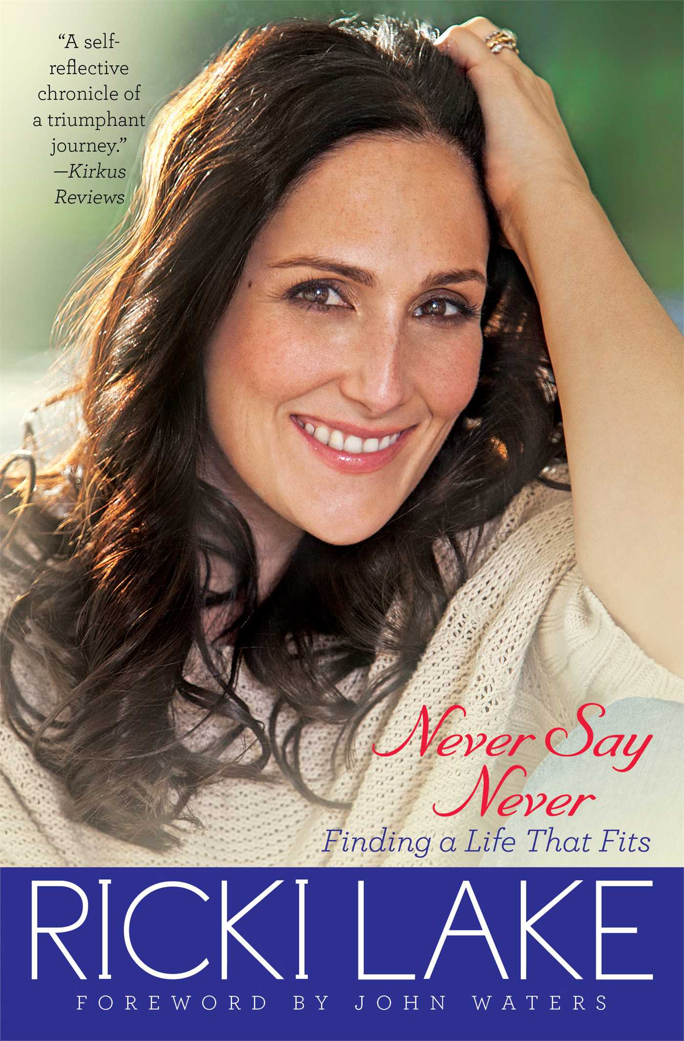 Never say never 9781451627183 hr