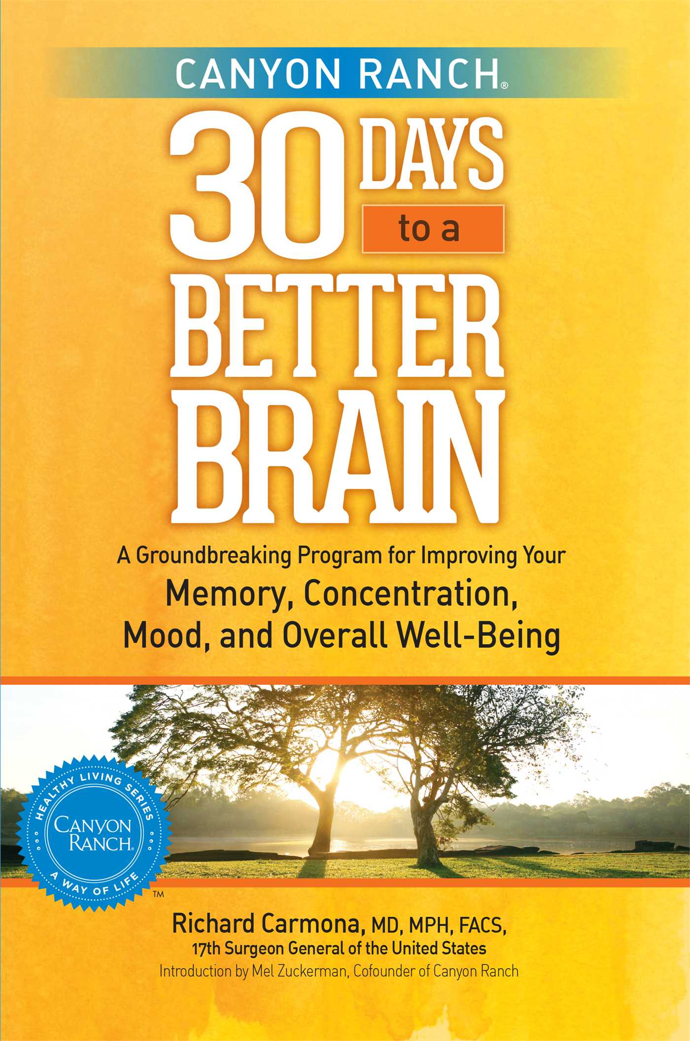 Canyon ranch 30 days to a better brain 9781451643800 hr