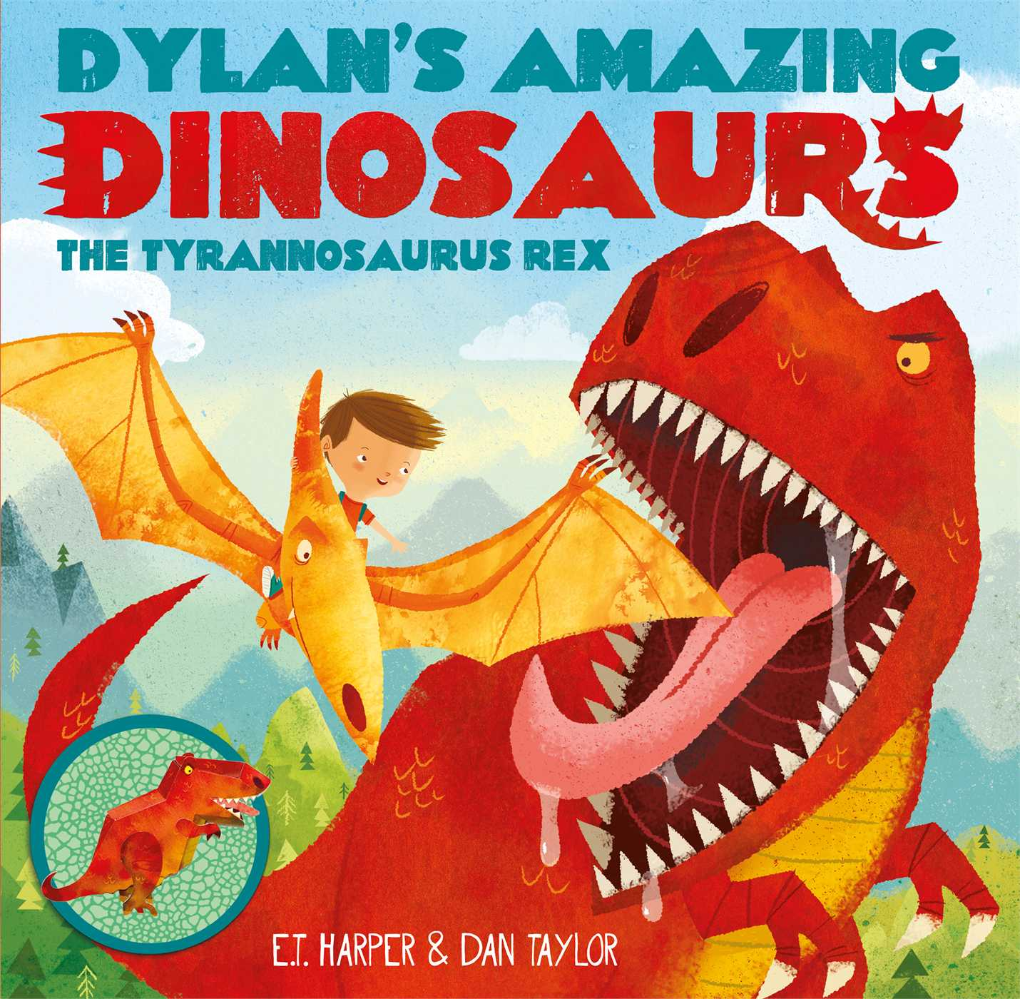 Dylans amazing dinosaurs the tyrannosaurus rex 9781471119354 hr