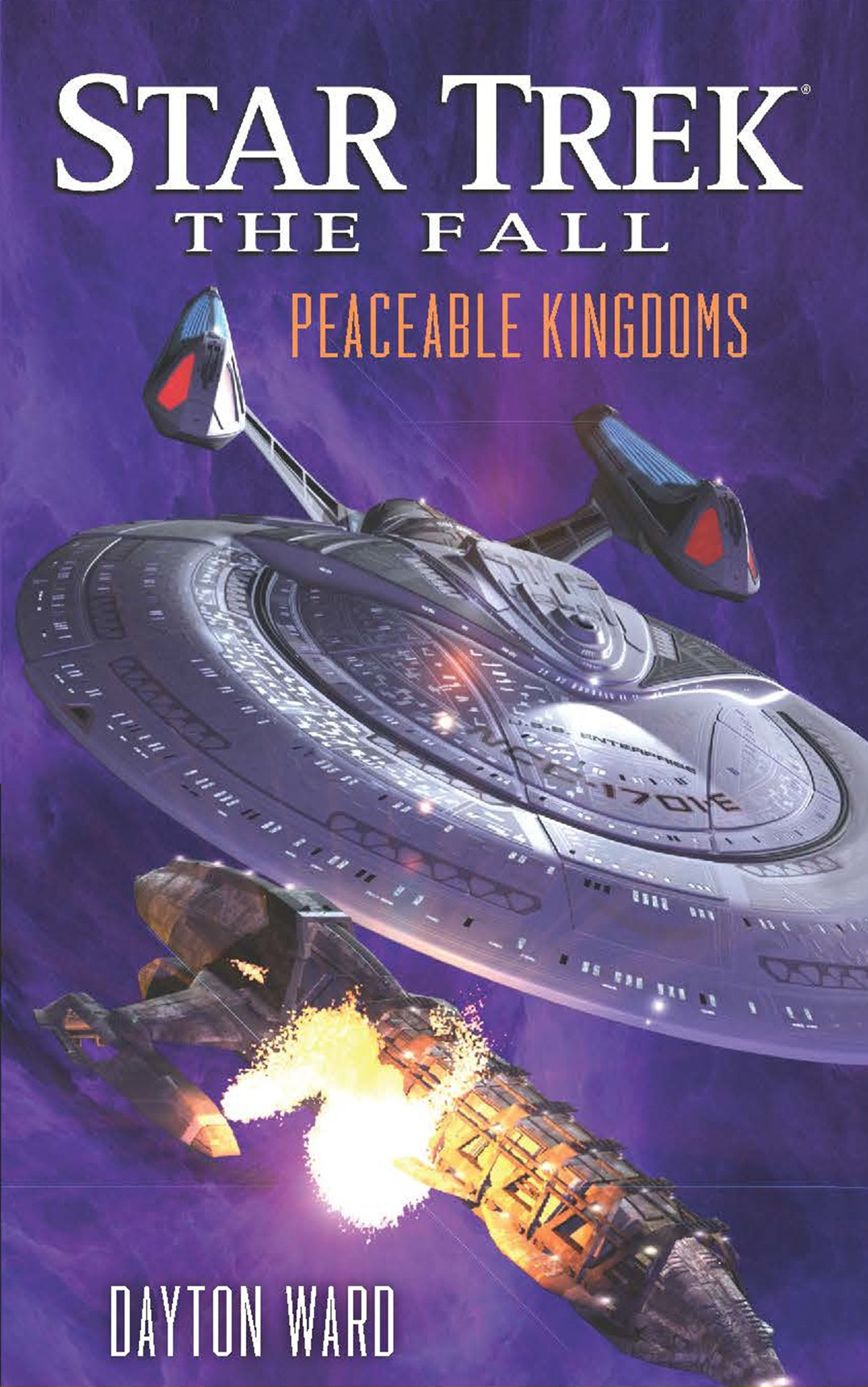 Star trek the fall peaceable kingdoms 9781476718996 hr