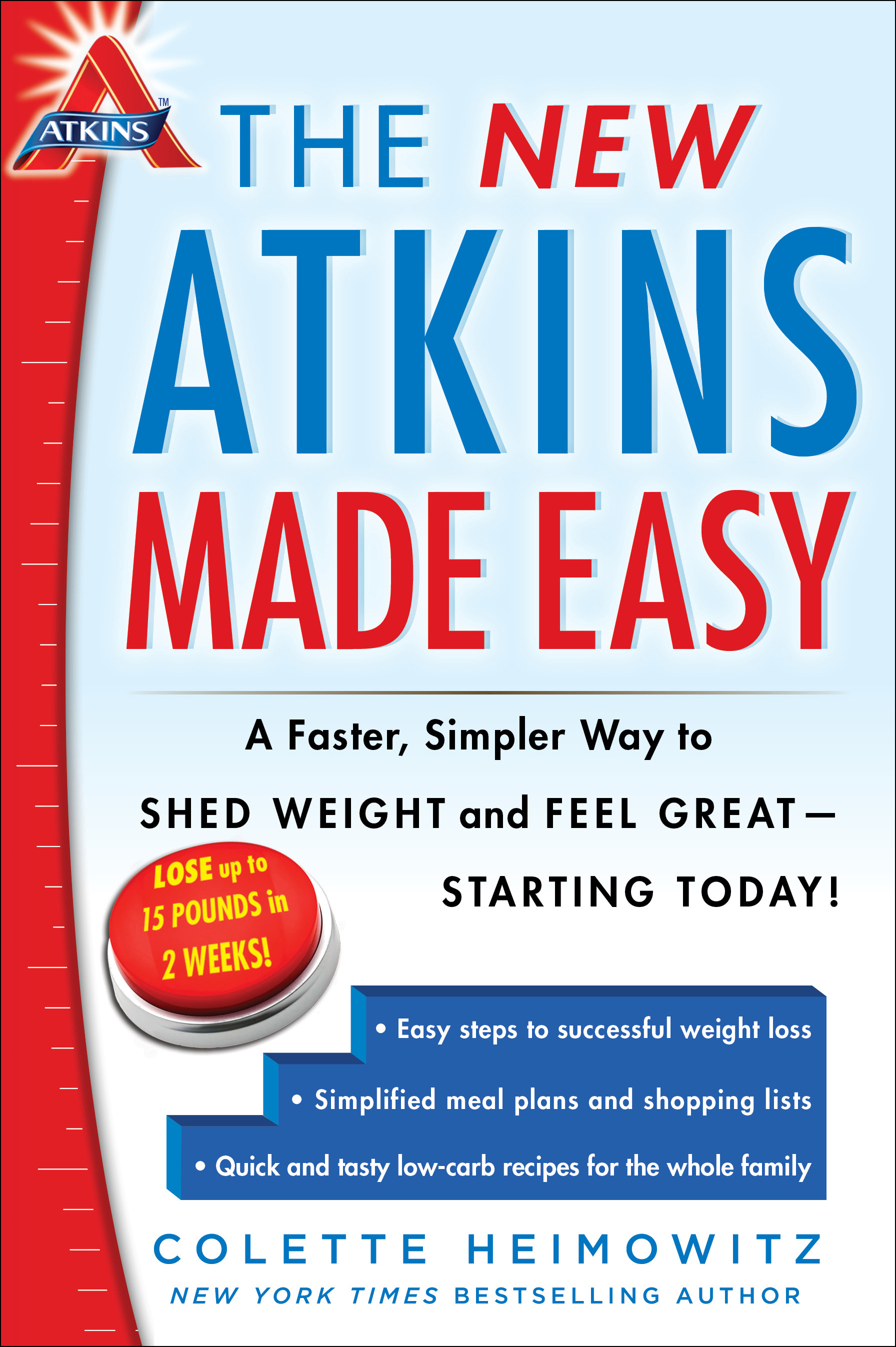 New atkins made easy 9781476729954 hr
