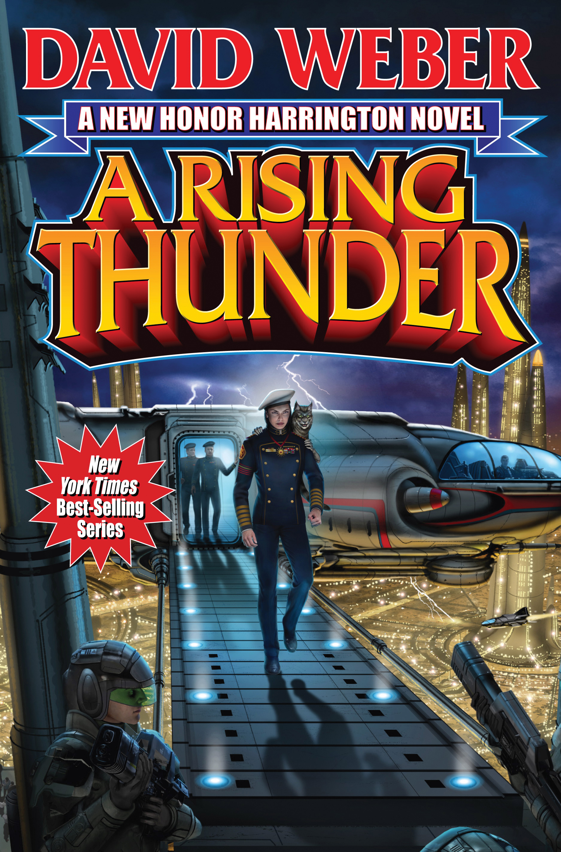 A Rising Thunder Book By David Weber Official