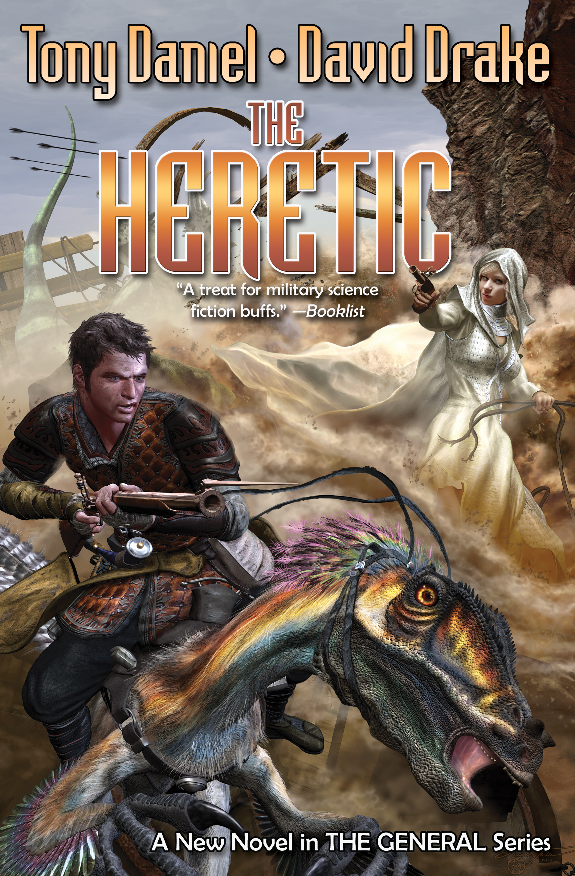 the heretic book by david drake tony daniel official publisher