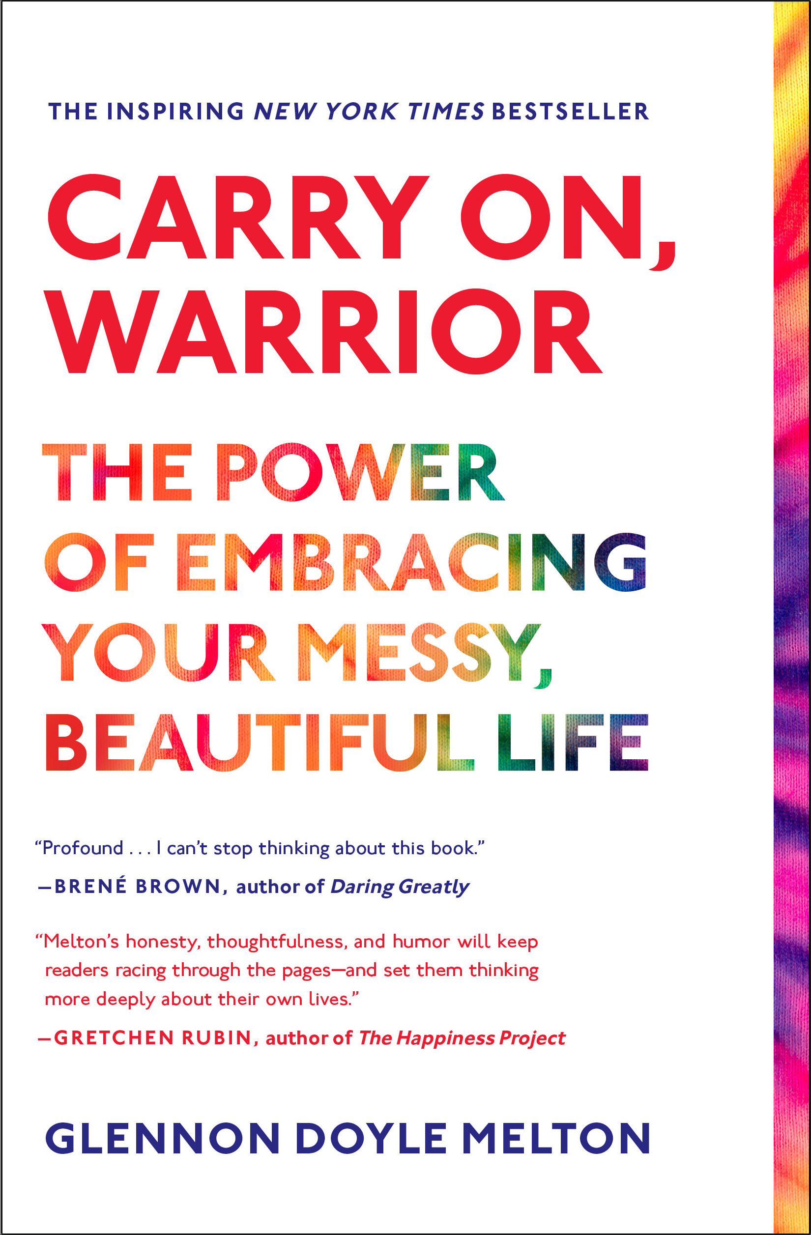 Carry on warrior special signed edition 9781476792088 hr