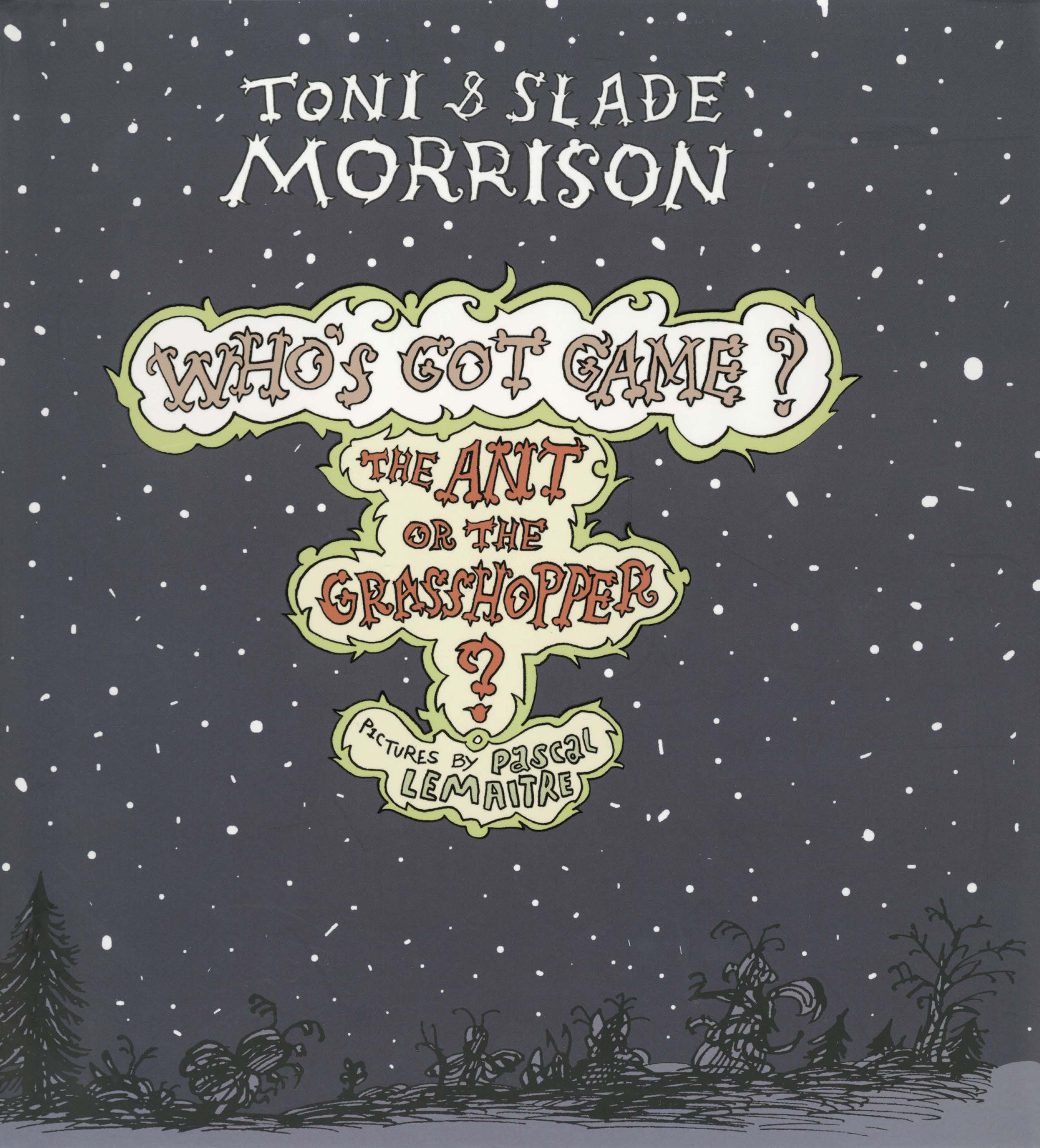 The ant or the grasshopper book by toni morrison slade morrison 9781476792699 hr fandeluxe Images