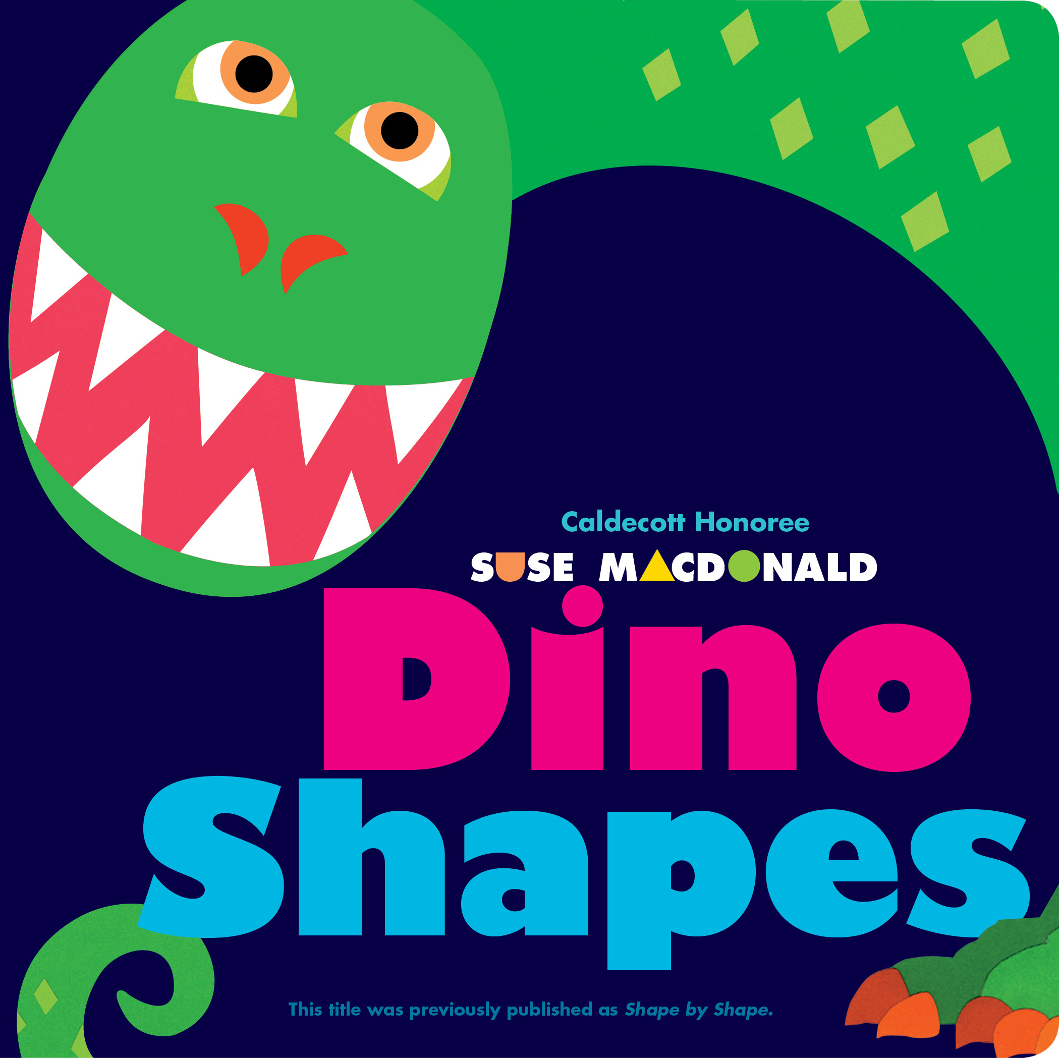 Dino Shapes Hr on shapes pages
