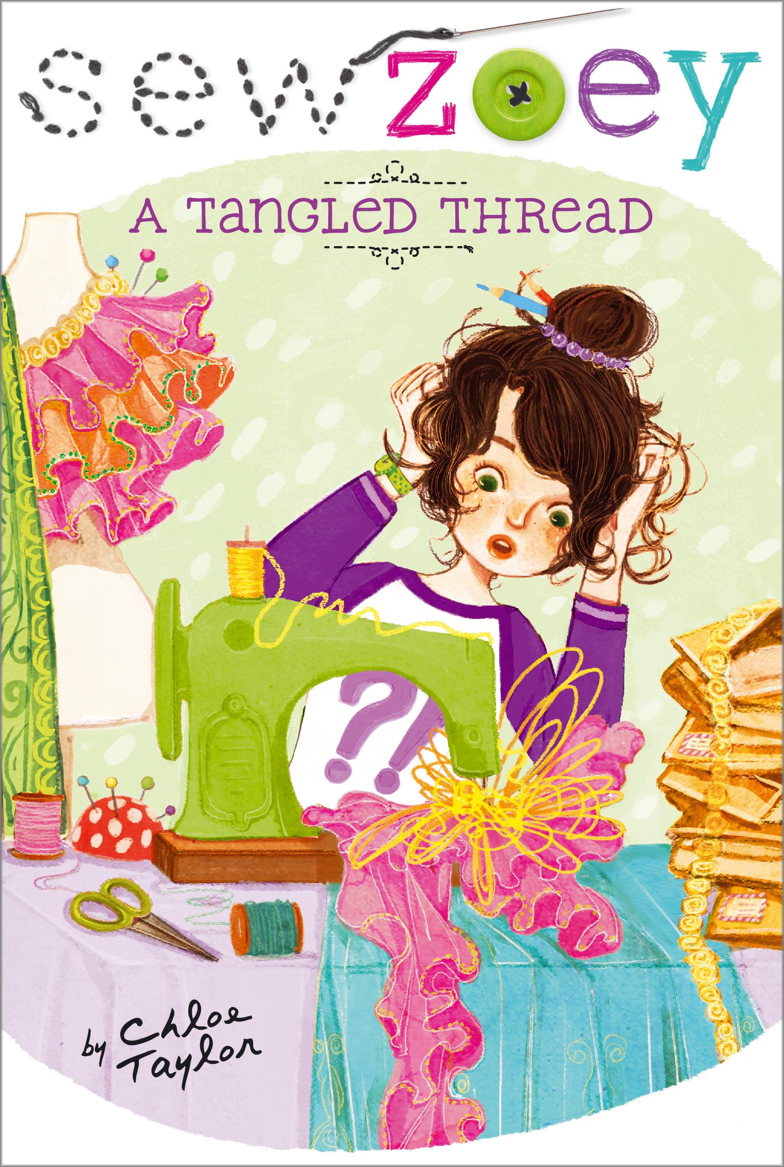 Tangled thread 9781481404433 hr
