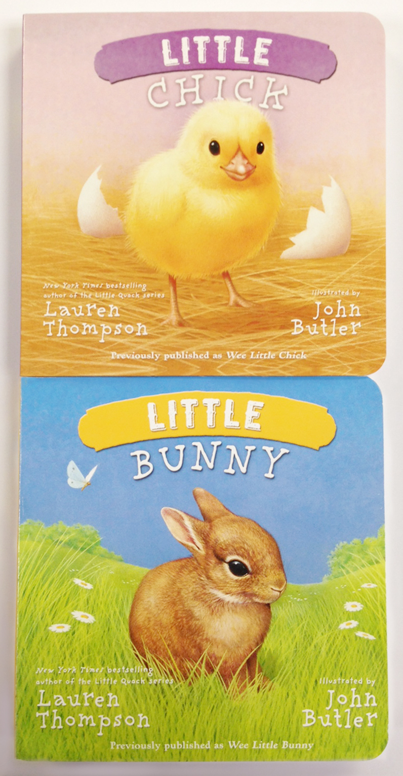 Little chick little bunny vertical 2 pack 9781481418768 hr