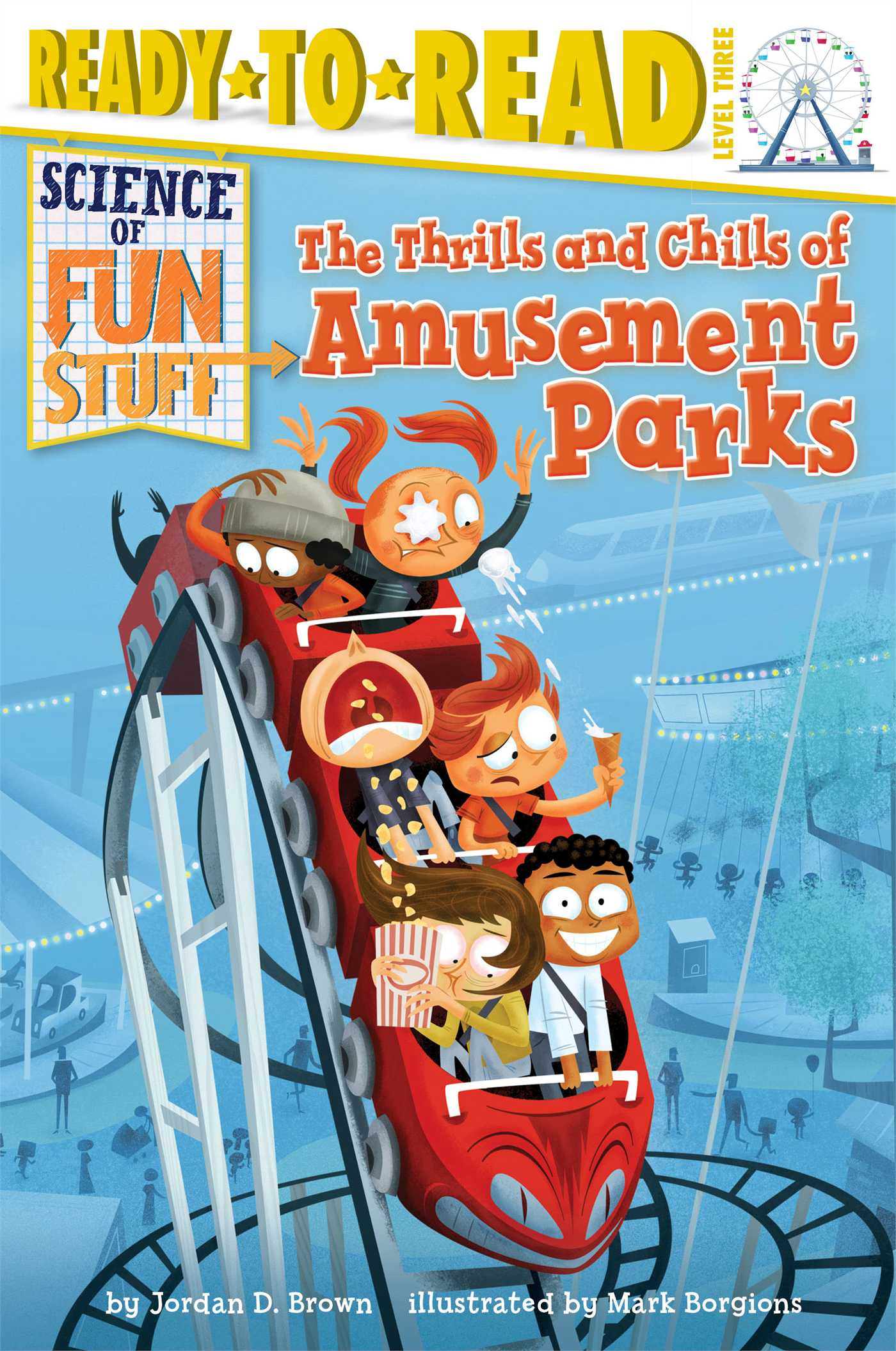 Thrills and chills of amusement parks 9781481428583 hr