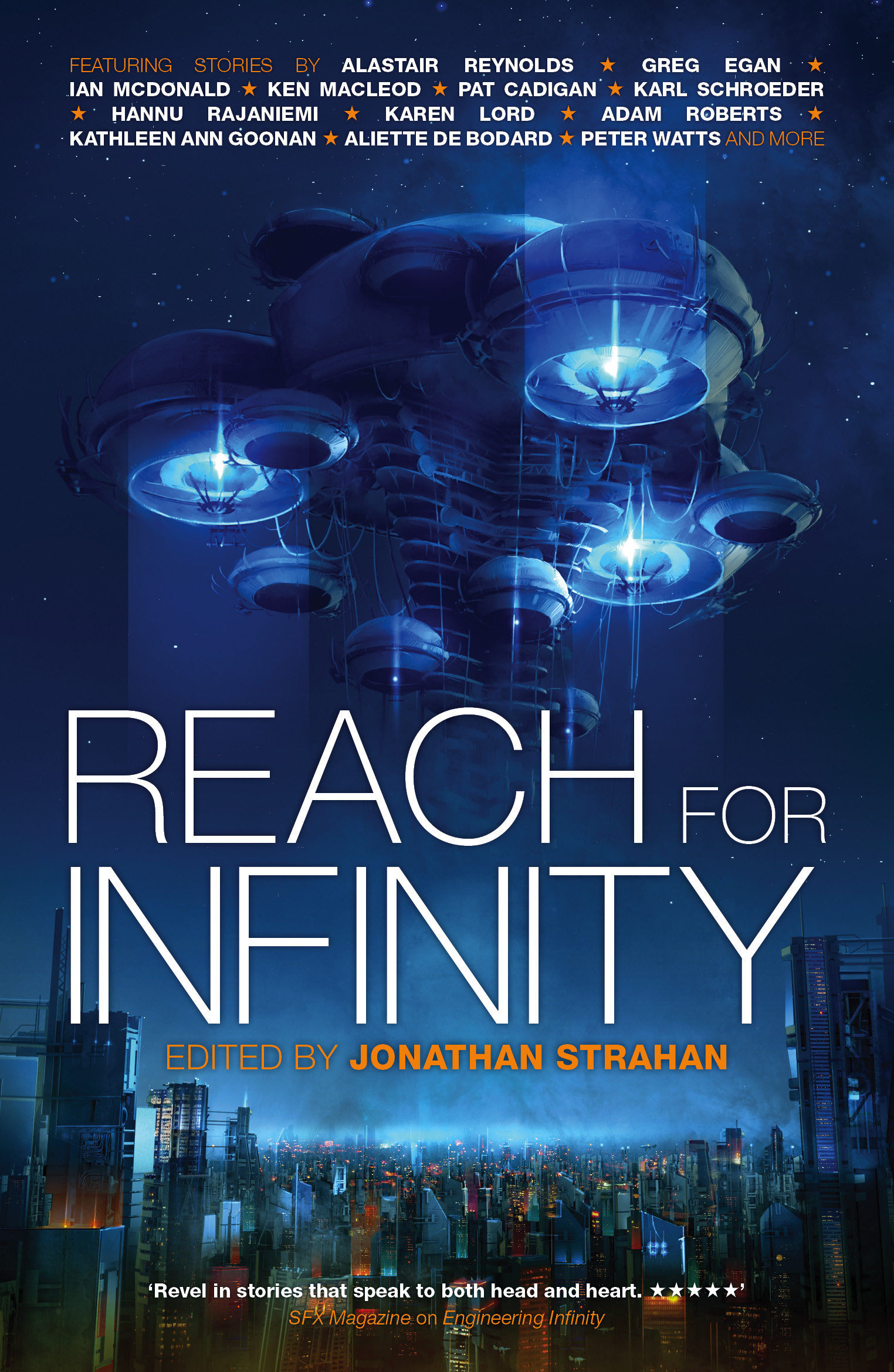 Reach for infinity 9781781082034 hr