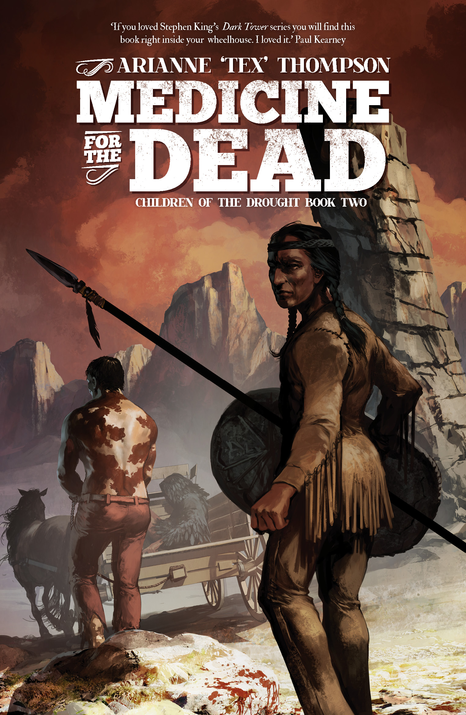 Image result for book cover medicine for the dead thompson